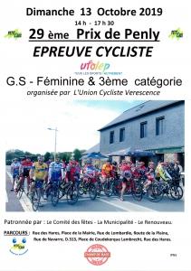 29e Prix de Penly, épreuve cycliste