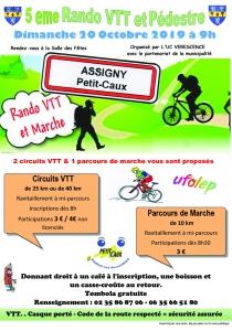 5e Rando VTT et Pédestre - Assigny