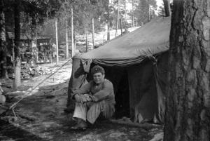 Reconstitution d'un camp militaire - Berneval-le-Grand