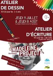 Ateliers autour de l'exposition temporaire - Saint-Martin-en-Campagne @ Musée d'Histoire de la Vie Quotidienne
