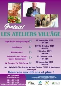 Les Ateliers Vill'Âge - Saint-Martin-en-Campagne @ Salle Edith Piaf