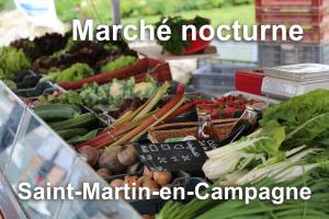 Marchés nocturnes : Saint-Martin-en-Campagne @ Place Duparchy à Saint-Martin-en-Campagne