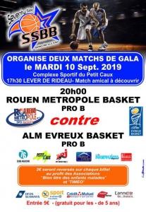 Matchs de Basketball : Belleville-sur-Mer @ Complexe sportif à Belleville-sur-Mer, Petit-Caux