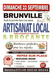 Marché artisanal et brocante - Brunville
