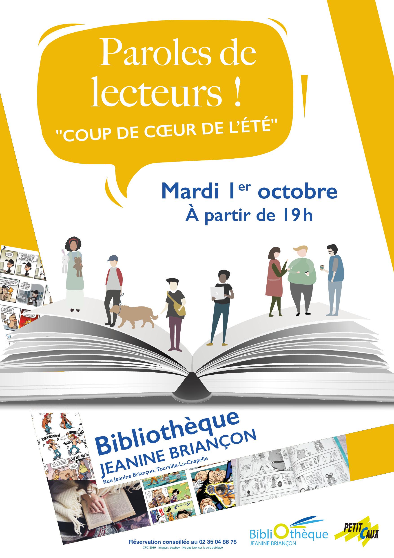 Paroles de Lecteurs Bibliothèque Tourville