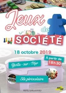 Jeux de société - Biville-sur-Mer @ Site périscolaire