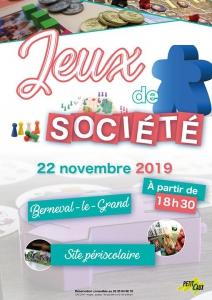Soirée Jeux de Société Berneval @ Mairie de Petit-Caux | Saint-Martin-en-Campagne | France