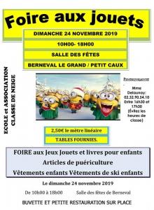Foire aux jouets - Berneval le Grand @ Berneval-le-Grand | Berneval-le-Grand | France