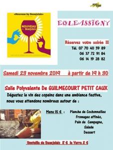 Soirée Beaujolais - Guilmécourt @ Guilmécourt | Guilmécourt | France