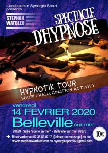 Spectacle d'Hypnose Scène en Mer @ Mairie de Petit-Caux   Saint-Martin-en-Campagne   France