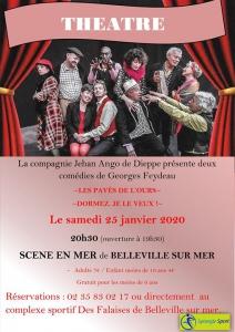 Th&atre Scène en Mer @ Mairie de Petit-Caux | Saint-Martin-en-Campagne | France