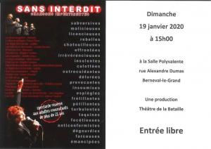 Théatre Sans Interdit Berneval @ Mairie de Petit-Caux | Saint-Martin-en-Campagne | France