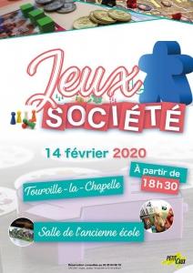 Soirée Jeux de société à Tourville @ Mairie de Petit-Caux | Saint-Martin-en-Campagne | France