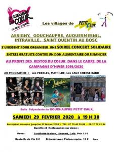 Soirée concert solidaire - Gouchaupré @ Gouchaupré, Haute-Normandie, France | Gouchaupré | France