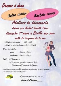 Stage danse Salsa et bachata cubaine Biville @ Mairie de Petit-Caux   Saint-Martin-en-Campagne   France