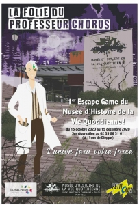 Escape Game @ Musée d'Histoire de la Vie Quotidienne | Saint-Martin-en-Campagne | France