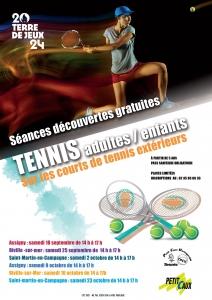 Découverte TENNIS @ Petit-Caux | Saint-Martin-en-Campagne | France