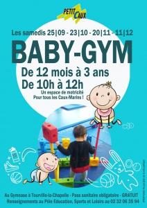 SÉANCES DE BABY-GYM @ Petit-Caux | Saint-Martin-en-Campagne | France
